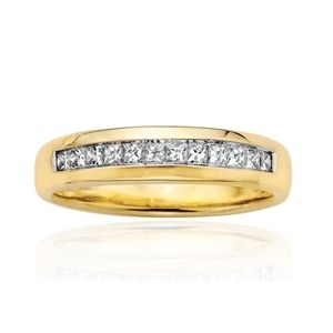 0.50 Carat Diamants Bague 14K Or jaune