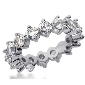 4.00 CARAT DIAMOND WEDDING RING ETERNITY BAND