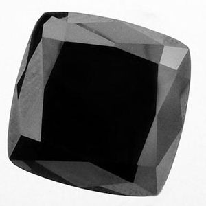 Black Diamond Cushion cut best quality with 1.74 carat